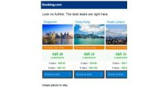 [Booking.com] Singapore, Hong Kong and Kuala Lumpur — great last-minute deals as low as S$ 10!