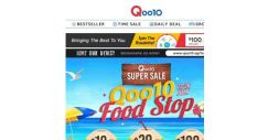 [Qoo10] Mid-Week Super Sale Shopping Time! Take a Look at Our Sizzling Hot Deals – Korean Soju, Cheese Cakes & More – Up to 60% Off!