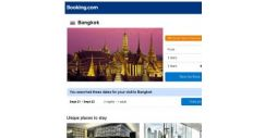 [Booking.com] Deals in Bangkok from S$ 24