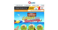 [Qoo10] Limited Time Only! Get Tokichoi Dresses At $12.90 Flat And Other Crazy Deals!