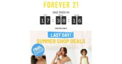 [FOREVER 21] GET UP TO 80% OFF OF SUMMER!