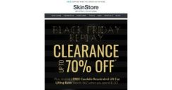 [SkinStore] BLACK FRIDAY REPLAY CLEARANCE | Up to 70% Off