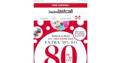 [Last Call] Gifts galore @ extra 30%–80% off everything