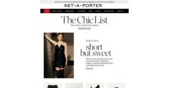 [NET-A-PORTER] Mini dresses with maximum drama