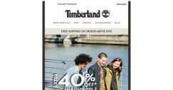 [Timberland] 🧧Usher in the CNY with 40%* Off 🧧