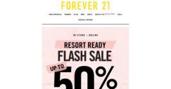 [FOREVER 21] 🌴 50% Off Styles