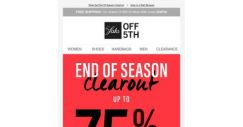 [Saks OFF 5th]  New pieces to wear now & later—up to 75% OFF