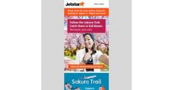 [Jetstar] 🌸 Catch the cherry blossom season in Japan and Taipei! Book early and save.