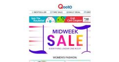 [Qoo10] Save More with the BEST Midweek SALE! Everything you Want and Need is HERE!