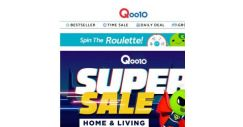 [Qoo10] Leap Year Specials! Spend your extra day of the year shopping for home essentials!