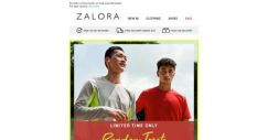 [Zalora] It's Pay-YAY! Grab 22% Off Sitewide