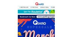 [Qoo10] LAST DAY of Qoo10 March Super Sale! Stand a chance to win LG Smart TV, $100 Qoo10 Gift card and Armaggeddon Gaming laptop! >