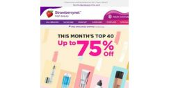 [StrawberryNet] 👏Up to 75% Off Top 40!👏