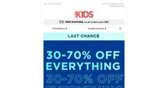 [Cotton On] Hurry! 30-70% off everything ends midnight tonight