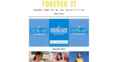 [FOREVER 21] oh boy, here we go again!