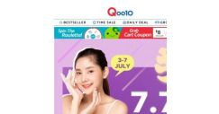 [Qoo10] Qoo10 7.7 BEAUTY SALE IS HERE, $7.70 deals, UP TO 70% OFF with over 70+ brands participating!