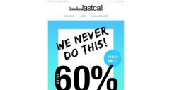 [Last Call] We never do this! Extra 60% off our favorite name