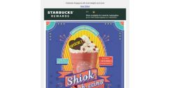 [Starbucks] Shiok-ah-ccino returns with a new exciting flavor