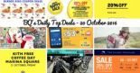 BQ's Daily Top Deals: 1-for-1 Bingsu, 20% OFF Doughnut Bags, 20% OFF 23 Scoot Destinations, M1 Smartphone M Card Promotion, Metro Closed Door Event, Rodalink Factory Outlet Opening Sale, Burger King Coupon Deals and The Planet Traveller 20% OFF Storewide!