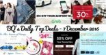 BQ's Daily Top Deals: Year End Sales at American Eagle Outfitters, GUESS & Spring Maternity! $5 OFF Cab Fare, 7-11 Exclusive Hello Kitty EZ-Charms, Cotton On 30% OFF Online & more!