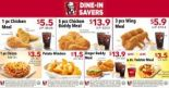 KFC: Save up to $9.60 with Dine-In Coupons
