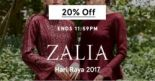 Zalora: Enjoy 20% OFF Zalia to celebrate Hari Raya 2017!
