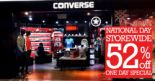 Converse: National Day Storewide 52% OFF One Day Special