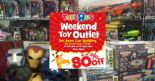 """Toys""""R""""Us: Weekend Toy Outlet Sale with Up to 80% OFF Toys & Games"""