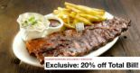 Morganfield's: Enjoy 20% OFF Total Bill via HungryGoWhere!