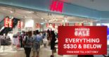 H&M: Smashing Sale with Sale Items at S$30 & Below!