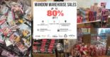 Mandom: Warehouse Sale 2018 with Up to 80% OFF Beauty Products from Gatsby, Bifesta, Lucido-L, Dolly Wink & More!