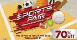 Takashimaya: Sports Fair with Up to 70% OFF Puma, Nike, Kappa, Reebok, Adidas & More