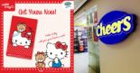 EZ-Link: NEW Hello Kitty EZ-Link Card Available at Selected Cheers Outlets!