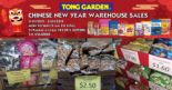 Tong Garden: Chinese New Year Warehouse Sales