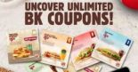 Burger King: Flash Latest E-Coupons for More Savings on Your Favourite Meal Deals & Snacks!
