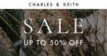 Charles & Keith: Sale with Up to 50% OFF Selected Styles!