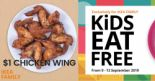 IKEA Singapore: Kids Eat FREE & $1 Chicken Wing Offers Are Back!