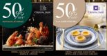 Crystal Jade: First 50 Walk-in Customers Get 50% OFF on 12 Dec 2019!