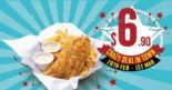 The Manhattan FISH MARKET: Enjoy Signature Hand-Battered Fish 'n Chips at Only $6.90!