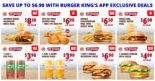 Burger King: Enjoy 8 Exclusive Deals on BK App – 1-for-1 Double Mushroom Swiss, Iced Milo, SJORA Mango Peach & More!