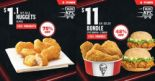 KFC: 11.11 Delivery Specials – Get 6 Pcs of Nuggets for Only $1.10 or $11 Bundle with 3 Pcs Chicken & 2 Zingers!