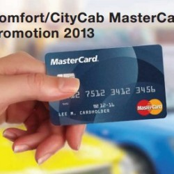 Comfort/CityCab MasterCard Promotion