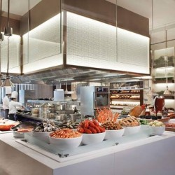 1 dines free with every 2 paying adults Buffet @Marriott Hotel - Marriott Cafe