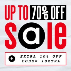 Up to 70% OFF + Extra 10% OFF! at ASOS.com