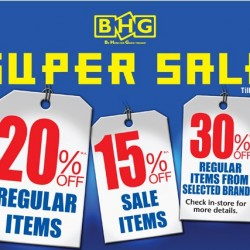 Super Sale at BHG