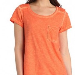 62% OFF! Calvin Klein Jeans Women's Smocked Twist Dye Tee offered at $14.99 by Amazon