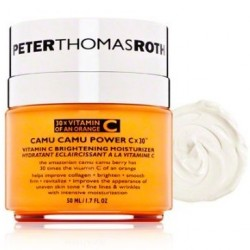 30% OFF! Peter Thomas Roth Camu Camu Power C-X 30 Brightening Moisturizer, 1.7 Fluid Ounce offered at $45.99 by Amazon