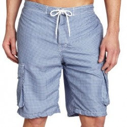 81% OFF! FCUK Men's Gingham Pank Swim Shorts offered at $15.07 by Amazon