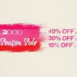 Up to 40% OFF! G2000 Mid Season Sale