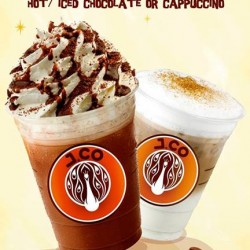 Buy 1 Get 1 FREE! Cappucino and Chocolate promotion by J.CO